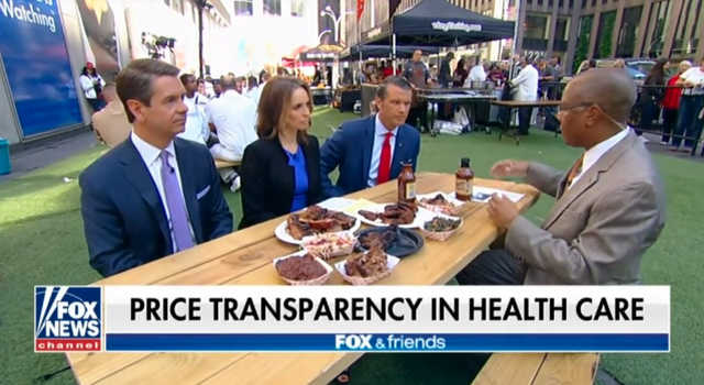 Healthcare Transparency - Fox News 5/25/19