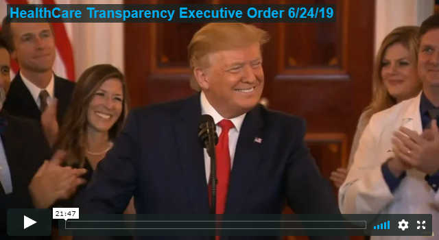 Healthcare Transparency Executive Order 6/24/19